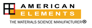 American Elements: global manufacturer of metals, alloys, chemicals, & nanomaterials for advanced materials science applications
